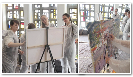 Action Painting Hamburg