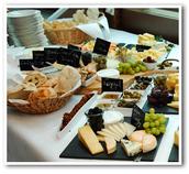 Buffet Alster Lounge Bootstour