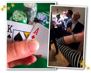 Poker Weihnachtsevent für Firmen