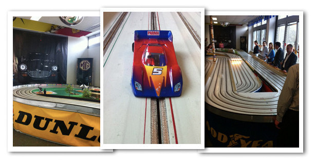 Teamevent Miniatur Autorennen