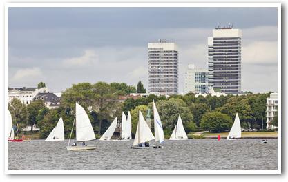 Segeln Teamevent Hamburg