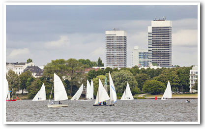 Segeln Teamevent Hamburg
