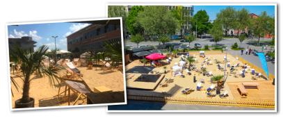 Beachclub Sommerfest für Firmen