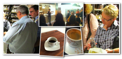 Kaffee Tasting Firmenevent Hamburg